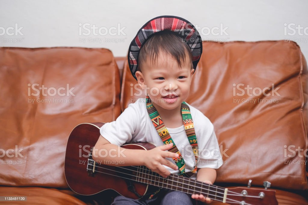 Cute Happy Smiling Little Asian 2 3 Years Old Toddler Baby