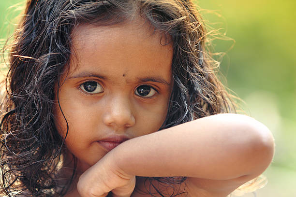 Simple girl in india