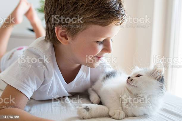 Cute kid and kitten looking at each other picture id611767358?b=1&k=6&m=611767358&s=612x612&h=ki2mo0hgvd76b08iof0f 8vk9rnwnmrtgk5ykrdcsq0=