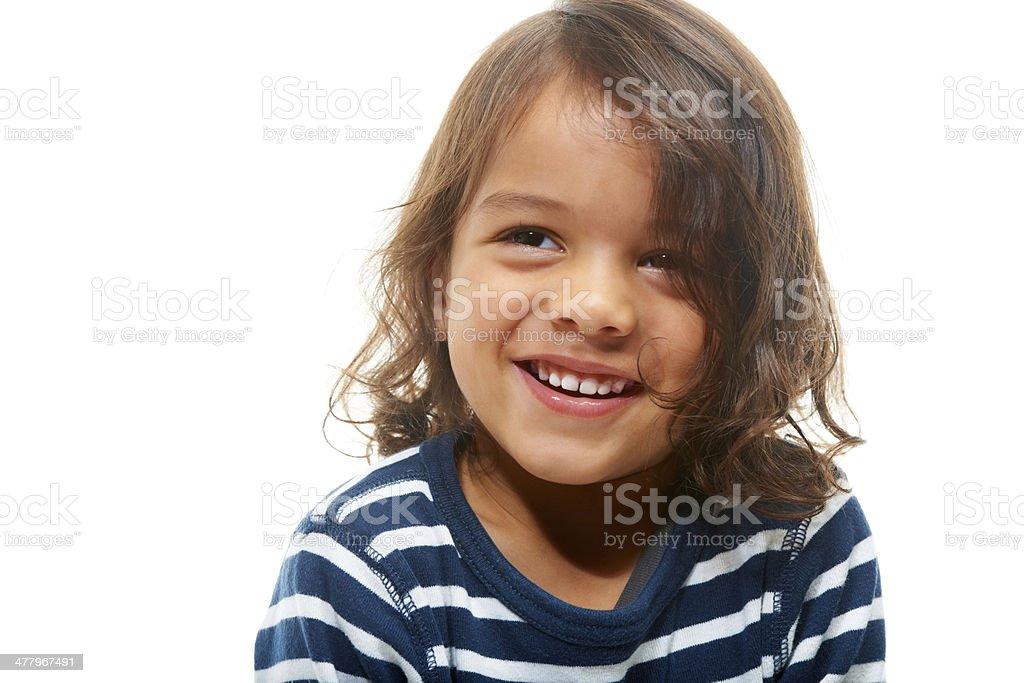 Cute kid royalty-free stock photo