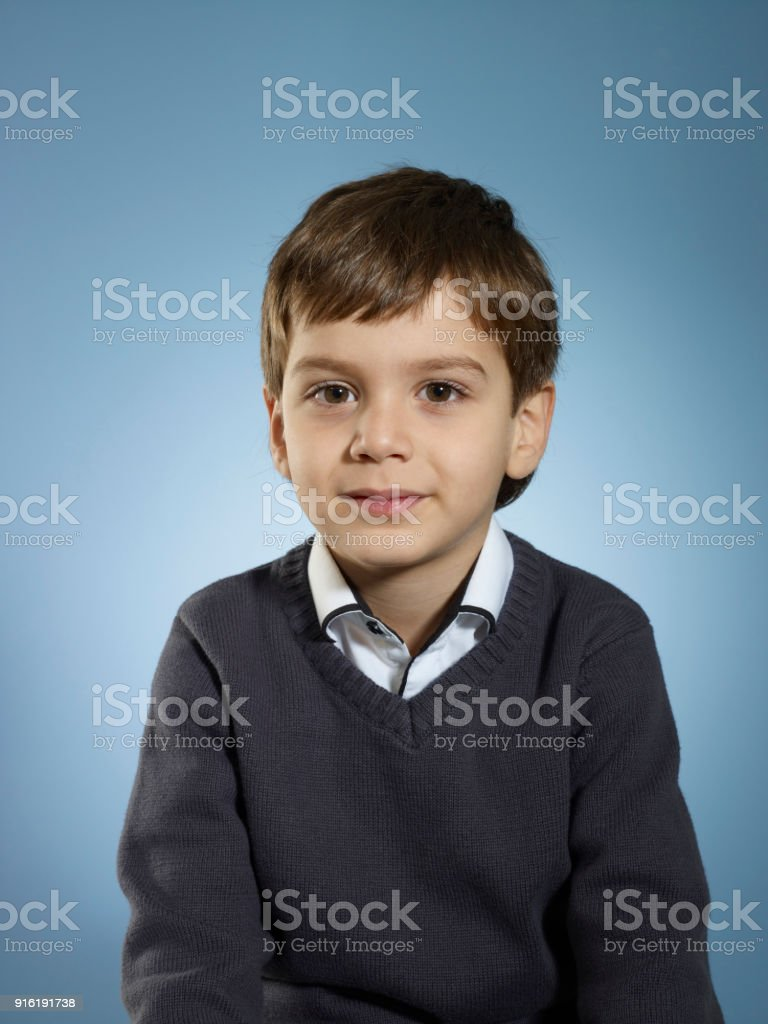 Cute kid stock photo