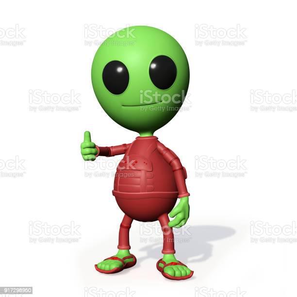 Cute little alien cartoon character with thumbs up picture id917298950?b=1&k=6&m=917298950&s=612x612&h=vikh0ikwpnmpe9cezxa4ajlrrb 7v6nvycsickxoo34=