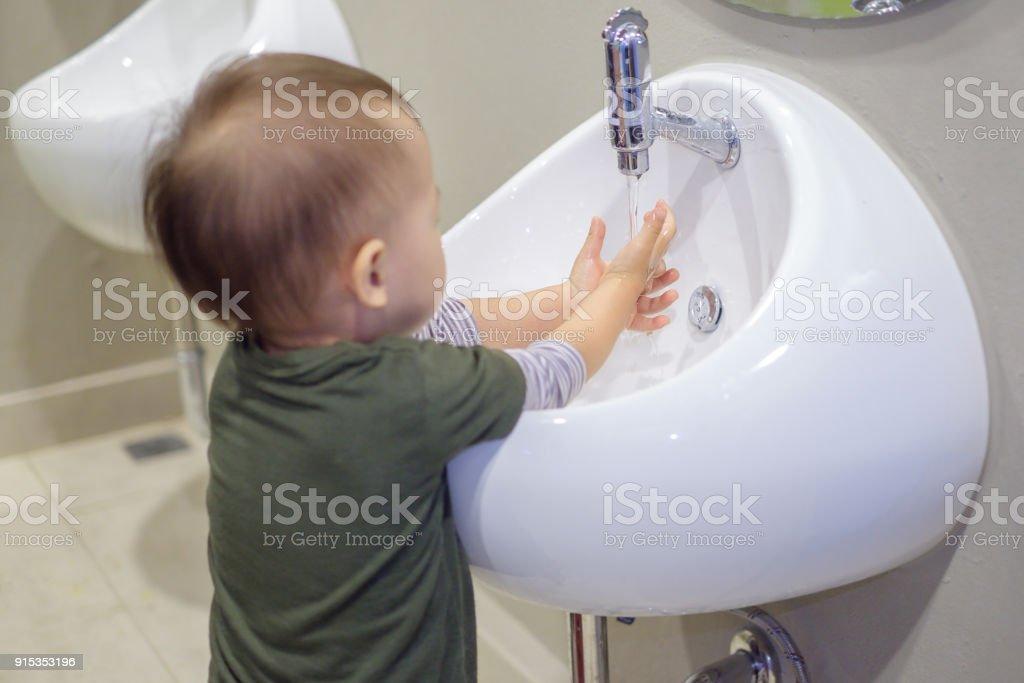 Reinigung Japanische Mama Sohn Diese Fotos