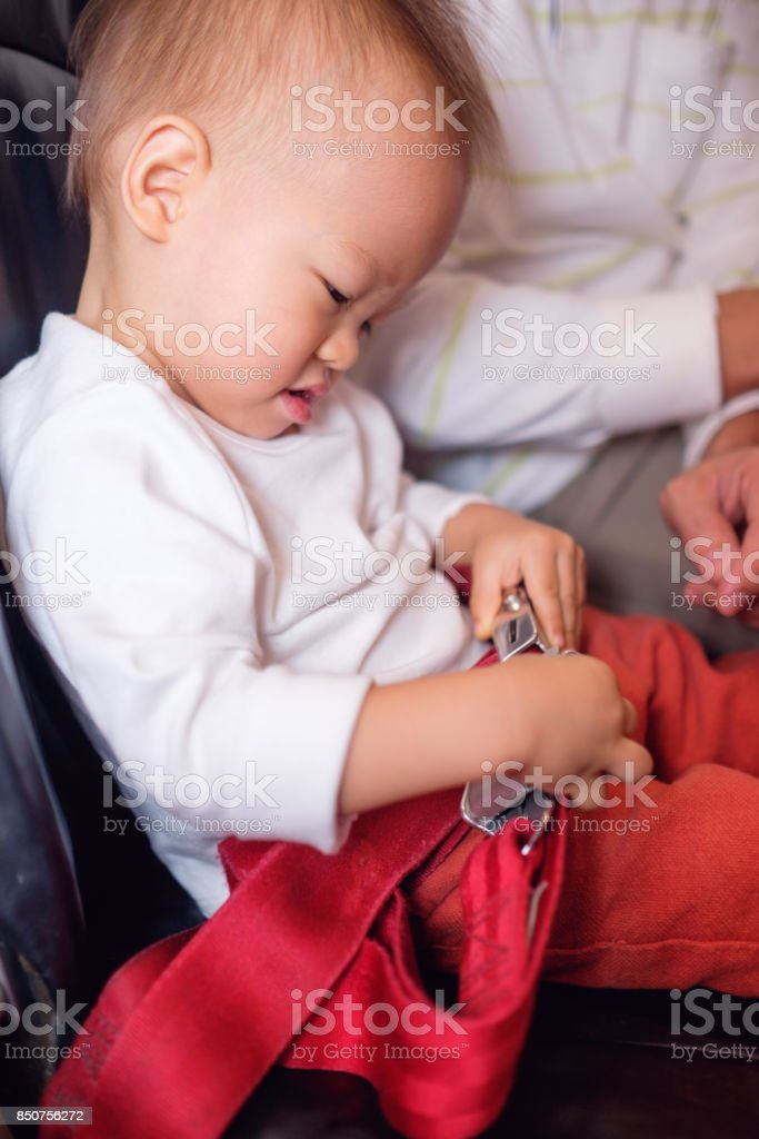 Cute Little Asian 20 Months 1 Year Old Toddler Baby Boy Child