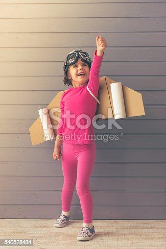 1019302738istockphoto Cute little astronaut 540528434