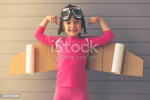 1019302738istockphoto Cute little astronaut 540528586