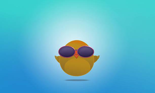 cute little bird avatar - sequence animation fotografías e imágenes de stock