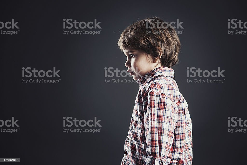 Cute little boy royalty-free stock photo
