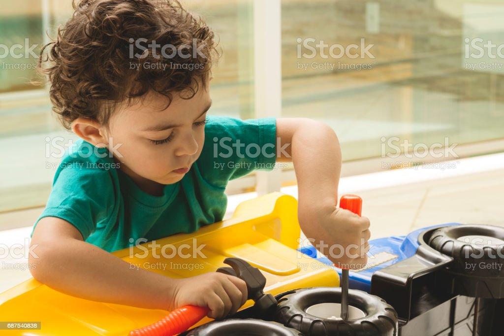 Süße kleine Jungen  – Foto
