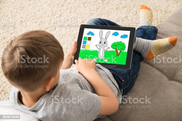 Cute little child playing game on digital tablet picture id833619538?b=1&k=6&m=833619538&s=612x612&h=orxuhy uhfsb nfintth3voaqlhqp43f3jzqbudk1x8=