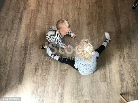 489225417 istock photo Cute little children 1146569689