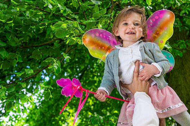 Süße kleine Fee Mädchen – Foto