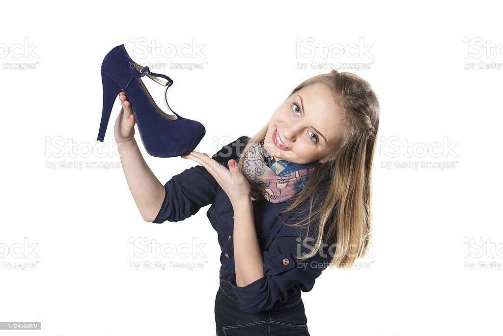 Heels high girl in Grace Kelly