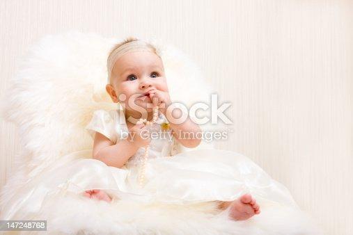 istock Cute little girl 147248768