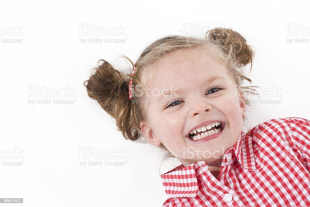 Bambina Carina foto stock royalty-free