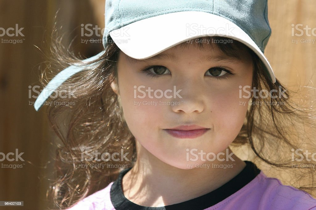 Cute little girl - Royalty-free Adolescence Stock Photo