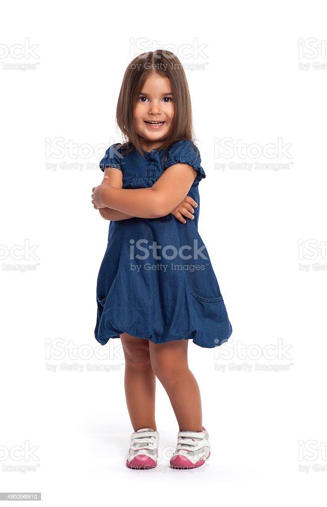 Linda menina Retrato - foto de acervo