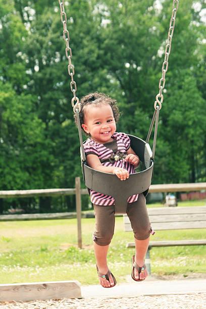 Cute Little Girl Portraits stock photo