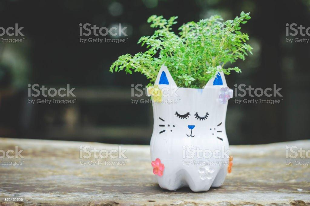 Cute Little Girl With Diy Water Bottles Diy Plastic Bottle Craft For