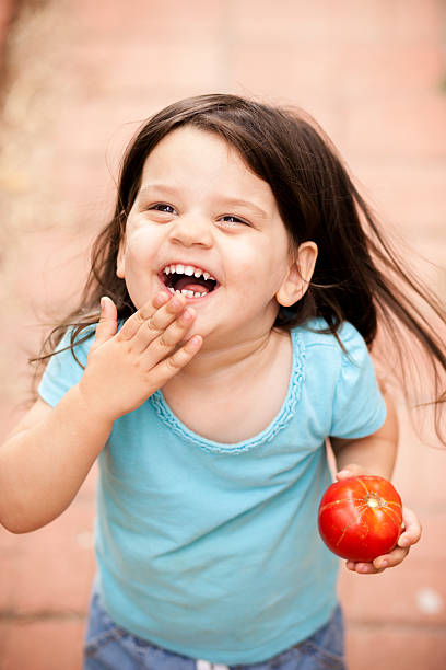 Cute little girl with freshly picked tomato from garden picture id539961376?b=1&k=6&m=539961376&s=612x612&w=0&h=6ncrhllrntowpx7z50gqq7josjc 0sxrtayxxfo6yq4=