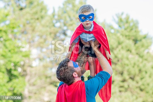 516318379 istock photo Cute Little Hero 1181710086