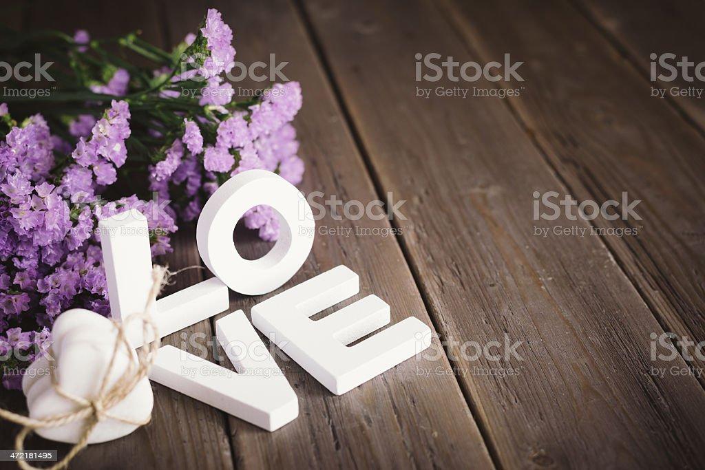 Süße Liebe Konzept mit Textfreiraum – Foto