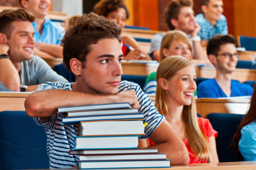 Cute Male Student Stock Photo - Download Image Now