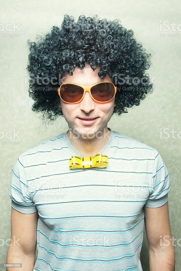 cute partyboy stock photo