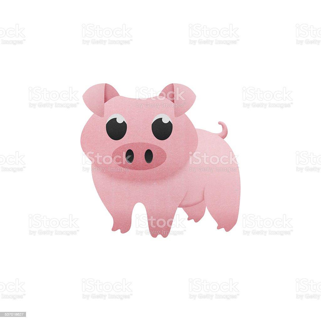 cute pig stock photo
