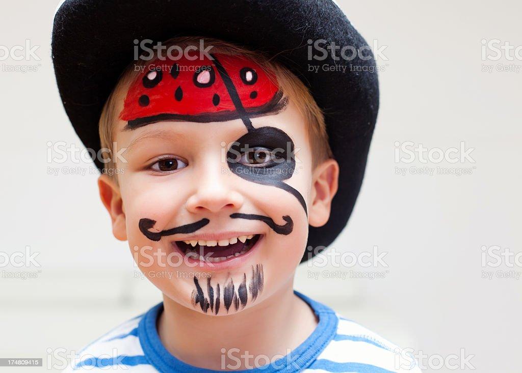 Cute pirate stock photo