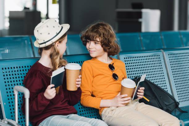 Cute preteen kids sitting in waiting hall with coffee to go and picture id1162546135?b=1&k=6&m=1162546135&s=612x612&w=0&h=nebx 1k6nx zfaz9aozmorjr0sekhsd9ld ujnwj9ng=