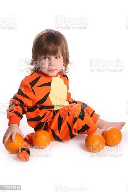 Cute red haired boy in tiger costume with oranges picture id152979913?b=1&k=6&m=152979913&s=612x612&h= fc3aorht6tq0jsiazjg83zjqoojl0uqliem3uokuk0=