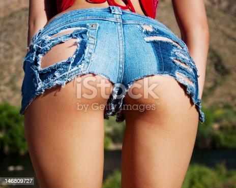 Ass ripped