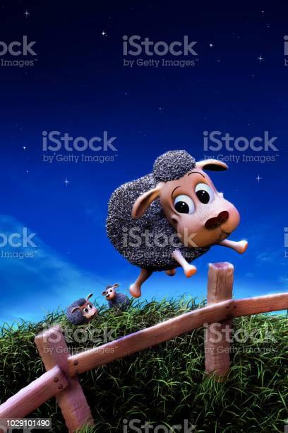 Cute sheep jumping a fence at night picture id1029101490?b=1&k=6&m=1029101490&s=612x612&h=9xthzwrljyy7 nlvhvijiw0rnxl o2a9mr6idbzc81u=