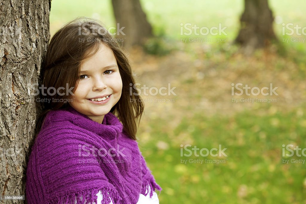 cute smiling girl royalty-free stock photo