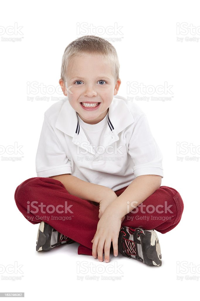 Cute Smiling Little Boy royalty-free stock photo