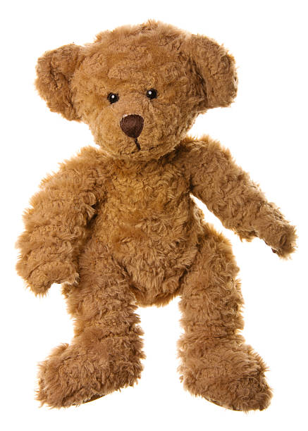 cute teddy bear standing - teddy bear stock photos and pictures