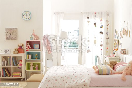 istock cute teen girl bedroom with decoration 5 1130076115