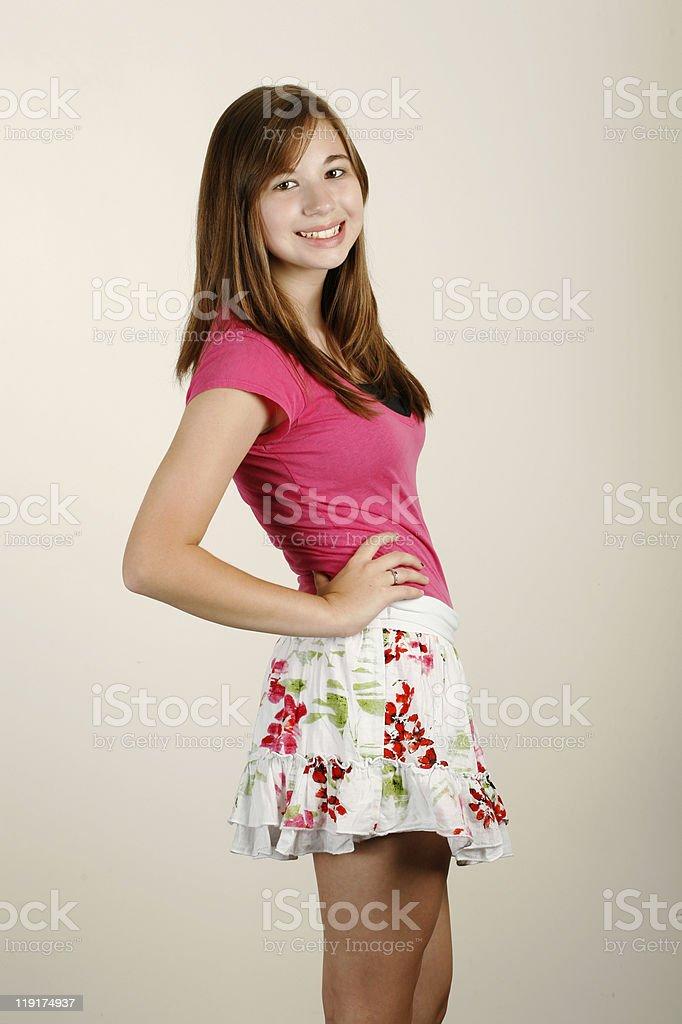 Cute Teen Girl Royalty Free Stock Photo