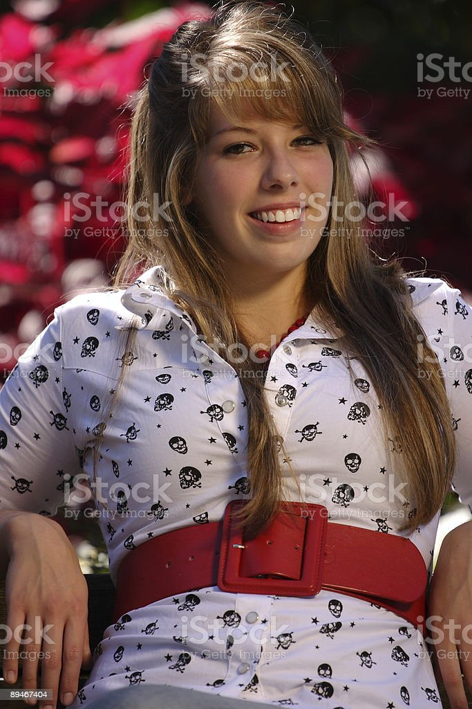 Cute Teenage Girl royalty-free stock photo