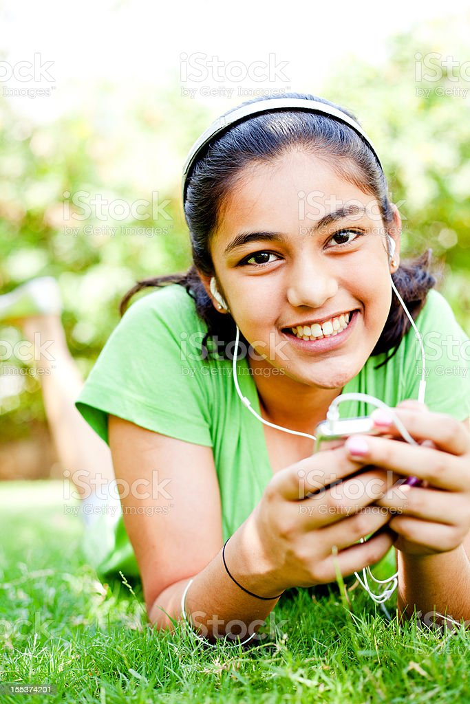cute teenager indian girl royalty-free stock photo