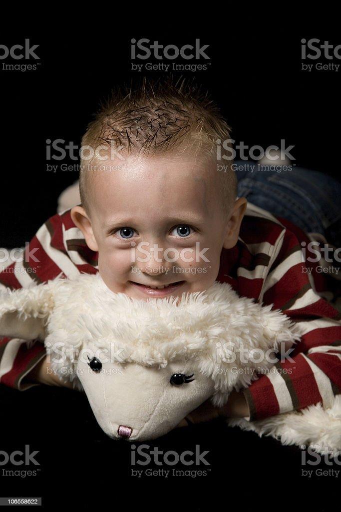 Cute Toddler Boy Series royalty-free stock photo