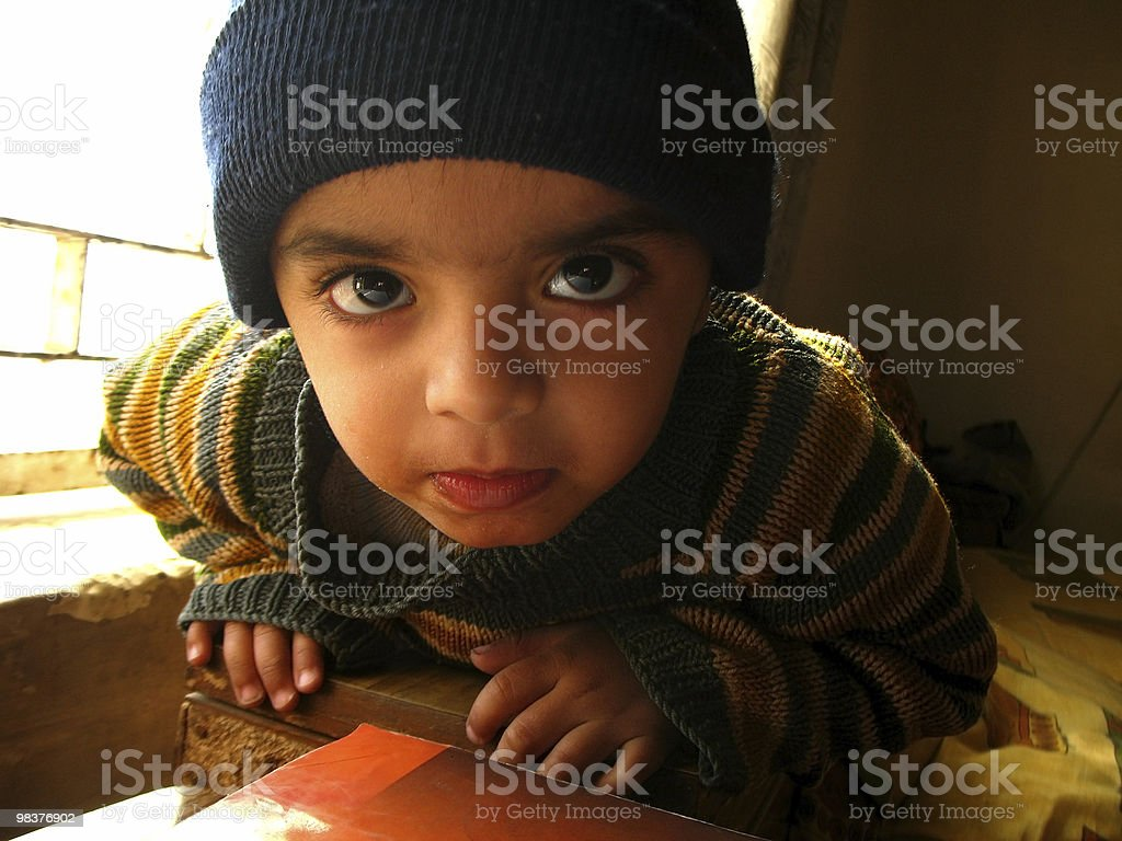 Cute toddler royalty-free stock photo