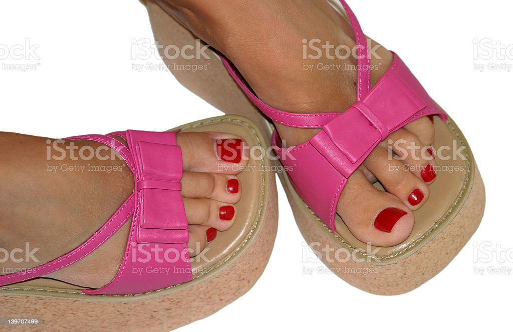 Cute Toes royalty-free stock photo
