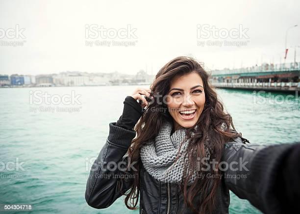 Cute turkish girl with bright smile selfie picture id504304718?b=1&k=6&m=504304718&s=612x612&h=g6rn5bajmdbf7qpuqbusohbvnbsjptk g xgvxwrjp0=