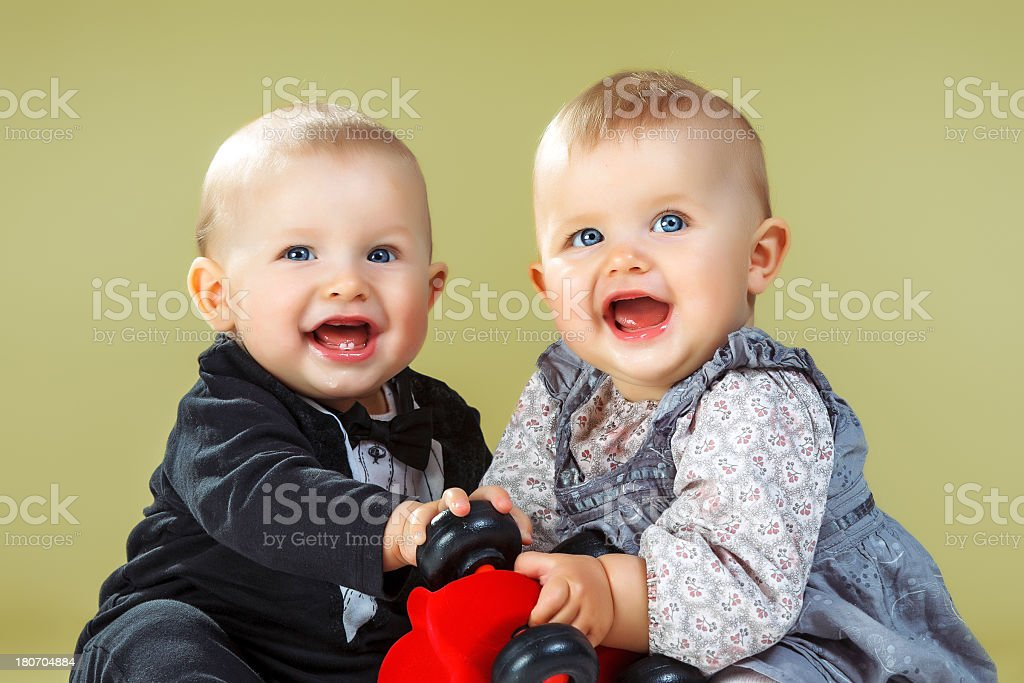 Cute Twin Brother And Sister Stock Photo More Pictures Of Adult