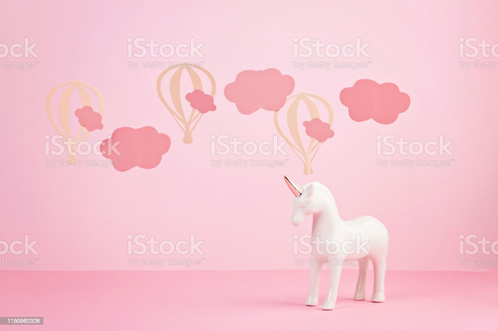 Cute White Unicorn Over The Pink Pastel Background With Clouds And Baloons Stock Photo Download Image Now Istock Accessories, animals, art, background, bears, beautiful, beauty, colorful, decoration, delicious, donut, donuts, fashion, fashionable, food, food porn, inspiration, iphone this picture that will affect you should also provide you with information about it. cute white unicorn over the pink pastel background with clouds and baloons stock photo download image now istock
