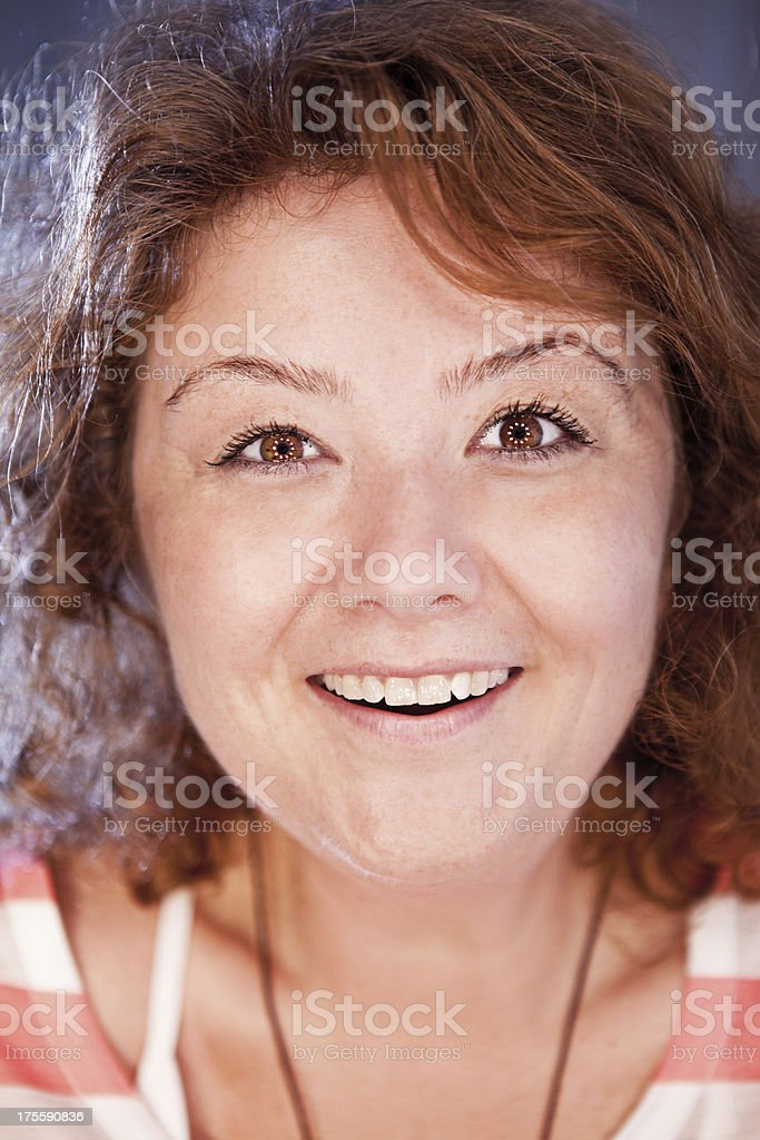 Cute Woman royalty-free stock photo