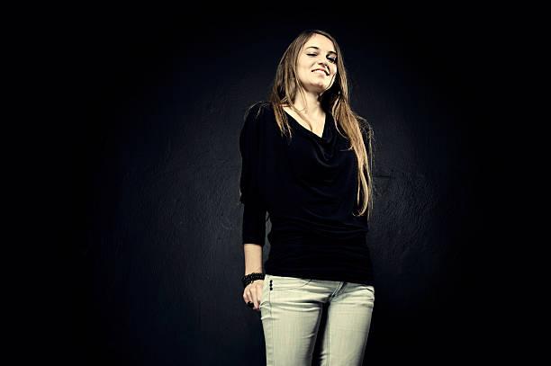 cute woman stock photo