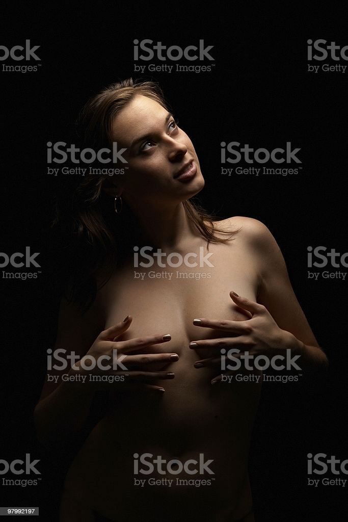 cute woman royalty-free stock photo